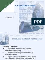 international accounting Chap 001
