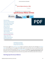 Synchronous Motor Drives _ Electrical4u