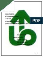Assignment of Uttara Bank