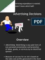 Advertising Decisions