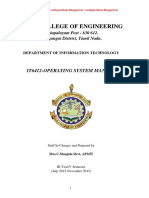 OPERATING SYSTEM LABORATORY MANUAL