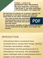 International Labour Movement
