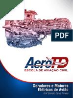 Geradores e Motores Eletricos de Aviação