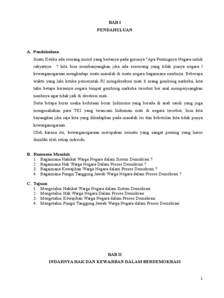 Contoh Makalah Pkn Kelas 10 Semester 2