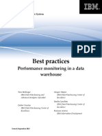 DB2BP Warehouse Performance Monitoring 0913