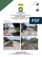 CBR PLUS proyecto rehabilitación calle Pedro Moreno La Barca Jalisco