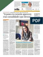Entrevista Ami Bondía- Diario de Sevilla (Grupo Joly. Andalucía)