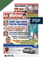 LE BUTEUR PDF du 11/04/2010