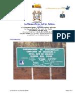 CBR PLUS camino La Manzanilla de La Paz Hacia San Martin