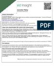 Externalities among creditors and personal bankruptcy