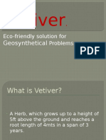 Features & properties of vetiver zizonoids