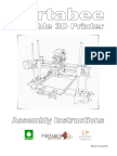 Portabee 3D Assembly Instructions HiRes