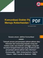 Dyah Komunikasi Dokter Pasien Palembang 12 Mei 2015