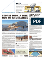 Asbury Park Press front page, Saturday, January 30, 2016