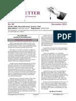 Dowsing Society of Victoria Newsletter November 2014