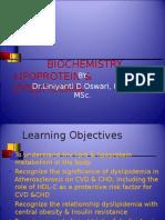 7. Biochemistry of Lipoprotein & Dyslipidemia