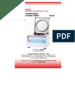 Centrífuga Q222T - Quimis