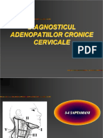 Diagnosticul Adenopatiilor Cronice Cervicale