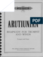 A. Aroutiounian - Rhapsody for Trumpet and Winds