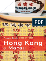 16.Rough Guides Directions Hong Kong & Macau