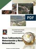 Ultima Clase - Rocas Sedimentarias y Metamorficas