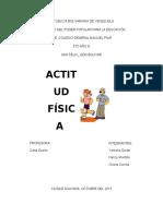 ACTITUD FISICA
