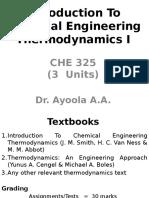Thermodyanics Studies Vol 2056