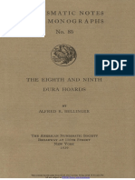 The eighth and ninth Dura hoards / by Alfred R. Bellinger
