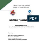 Contoh Report L,Industri