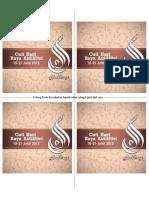 Label Cuti Raya Aidilfitri 2015