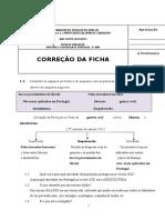 Ficha de Avaliação História e Geografia de Portugal de Janeiro de 2014 - CORREÇÃO (1)