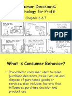 Consumer and Business Behavior Ch. 6&7 Net