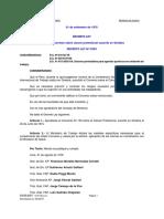 Decreto Ley Nº 21601 Cancer Profecional