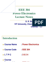 Eee 304 Lecture Notes - 1