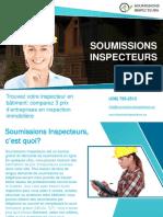 Combien coûte un bon inspecteur en bâtiment?