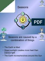 reason for seasons lab