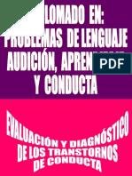 _EVALUACIÓN-De Los Trastornos de Conducta. II 17 Oct