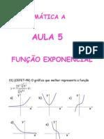 Matemática Aula 05 - Função Exponencial