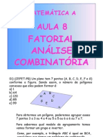 Matemática Aula 08 - Fatorial