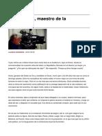 Sinpermiso-ettore Scola Maestro de La Melancolia-2016!01!29