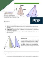 Matemática - Resumos Vestibular - Geometria - Cone