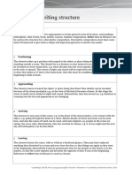 CIE iGCSE English Language - Descriptive Writing