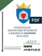 Strategia de Dezvoltare Integrata a Raionului 2014-2020