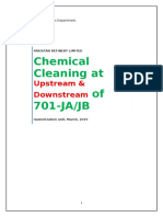 Chemical Cleaning Report of Hydrogen Makeup Compressor.