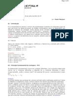 Matemática - Resumos Vestibular - Análise Combinatória II