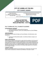 Agenda 02-02-16