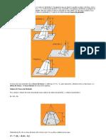 Matemática - Resumos Vestibular - Geometria - Tronco de Piramide