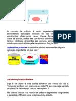 Matemática - Resumos Vestibular - Geometria - Cilindros