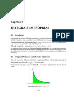 Apostila Matemática Cálculo CEFET Capítulo 08 Integrais Impróprias