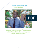 Management Plan - Andy Mickunas
